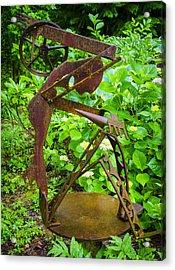 Farm Worker Acrylic Print by Carolyn Marshall