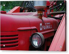 Acrylic Print featuring the photograph Farmall Tractor by Ron Roberts