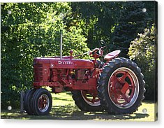 Farmall's End Of Day Acrylic Print