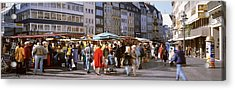 Farmers Market, Bonn, Germany Acrylic Print by Panoramic Images