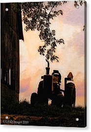 Farmers Sunset Acrylic Print