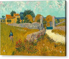 Farmhouse In The Provence Acrylic Print