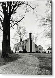 Farmhouse On Belle Air Plantation Acrylic Print
