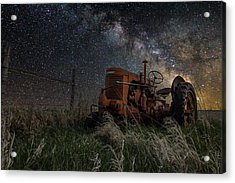 Farming The Rift Acrylic Print