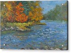 Farmington River Fall Acrylic Print