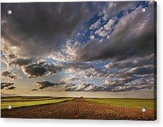 Farmland Under A Big Sky Acrylic Print