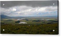 Farms - Drakensberg Range - South Africa Acrylic Print