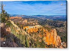 Acrylic Print featuring the photograph Farview Point Tableau by John M Bailey