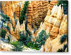 Faryland Canyon Bryce Canyon National Monument Acrylic Print