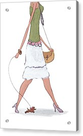 Fashion Acrylic Print by Christy Beckwith