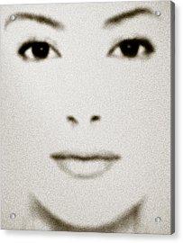 Fashion Face Acrylic Print