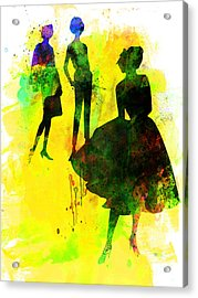 Fashion Models 2 Acrylic Print