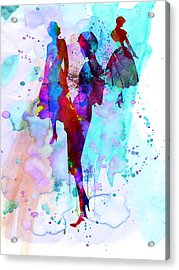 Fashion Models 7 Acrylic Print