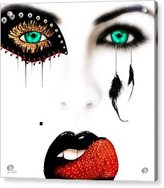 Fashionista Acrylic Print