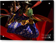 Acrylic Print featuring the digital art Fasre Faster by Angelika Drake