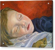 Fast Asleep Acrylic Print by Hope Lane