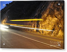 Fast Car Acrylic Print by Gandz Photography