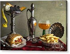 Fast Food Acrylic Print
