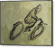 Faster Faster Acrylic Print by John Malone