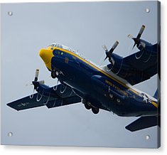 Fat Albert Drawing Spirals Of Air Acrylic Print