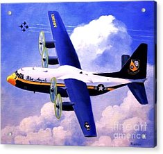 Acrylic Print featuring the painting Fat Albert by Stephen Roberson