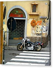 Fat Boy In Florence Acrylic Print