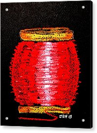 Fat Red  Acrylic Print by Joseph Hawkins