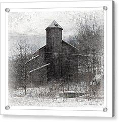 Fate Of The Family Farm Acrylic Print by John Stephens