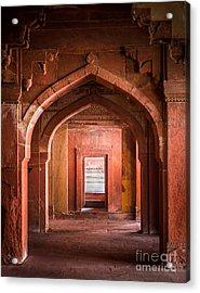 Fatehpur Sikri Entrance Acrylic Print by Inge Johnsson