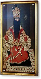 Fath 'ali Shah. King Of Persia 1797-1834 Acrylic Print by British Library
