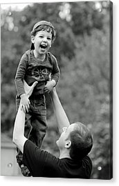 Father And Son IIi Acrylic Print by Lisa Phillips