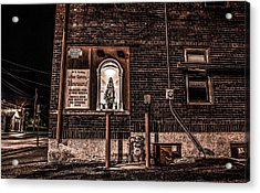 Father Conroy's Vinyard Of Hope Acrylic Print by Ray Congrove