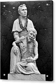Father Damien Of Molokai Acrylic Print by Karon Melillo DeVega