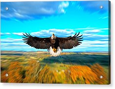 Father Restore Our Land Acrylic Print by Randall Branham