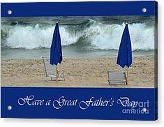 Father's Day Card Acrylic Print by Randi Grace Nilsberg