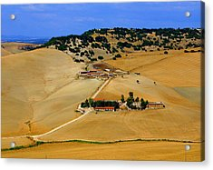 Farm In Rural Tarquinian Acrylic Print