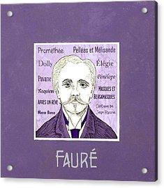 Faure Acrylic Print by Paul Helm