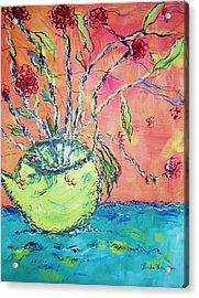 Fauvisum Acrylic Print by Linda Vaughon