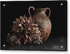 Faux Flower Still Life Acrylic Print