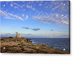 Favignana - Lighthouse Acrylic Print