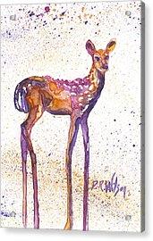 Fawn Rising Acrylic Print