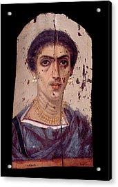 Fayum Mummy Portrait Acrylic Print