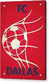 Fc Dallas Goal Acrylic Print by Joe Hamilton