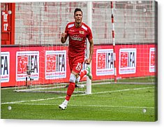 Fc Union Berlin V Queenspark Rangers - Test Match Acrylic Print by Florian Pohl