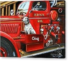 Fdny Chief Acrylic Print