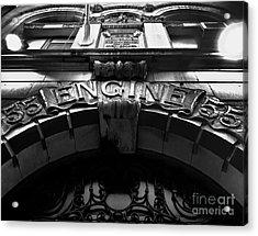 Fdny - Engine 55 Acrylic Print by James Aiken