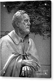 Fdr Statue At Fdr Memorial Acrylic Print