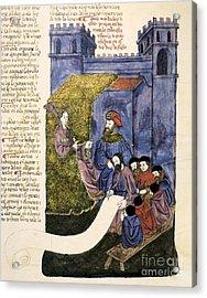 Feast Of Purim, 1430 Artwork Acrylic Print by Patrick Landmann