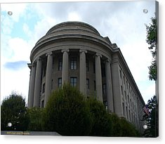 Federal Trade Commission Acrylic Print by Lingfai Leung