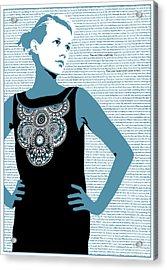 Feel Acrylic Print by Andras Varadi